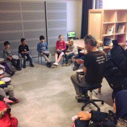 Trainer/Workshop Amsterdam  (NL) Djembe & Percussie Workshop voor Scholen