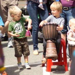 Djembe & Percussie Workshop voor Scholen