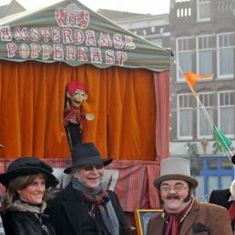 Amsterdam puppet show with Jan Klaassen