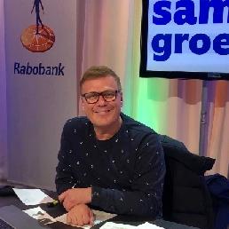 Presentator/Dagvoorzitter Rob van Rossum