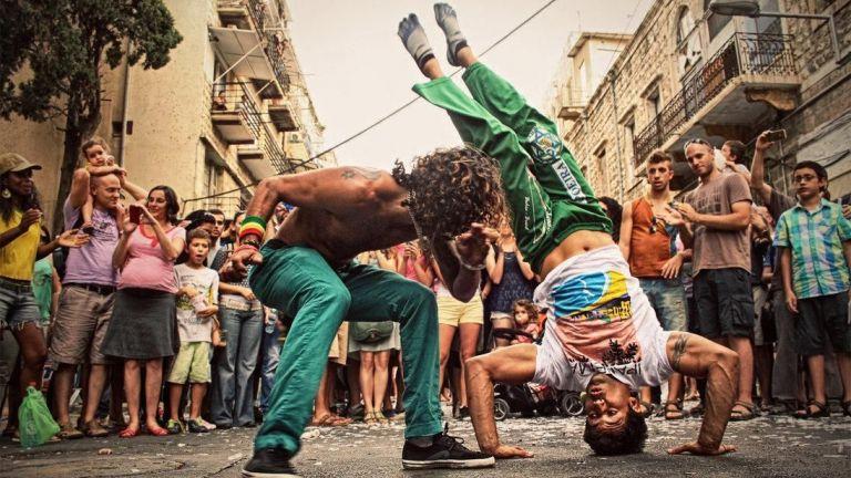 Trainer/Workshop Amsterdam  (NL) Capoeira Dance Show