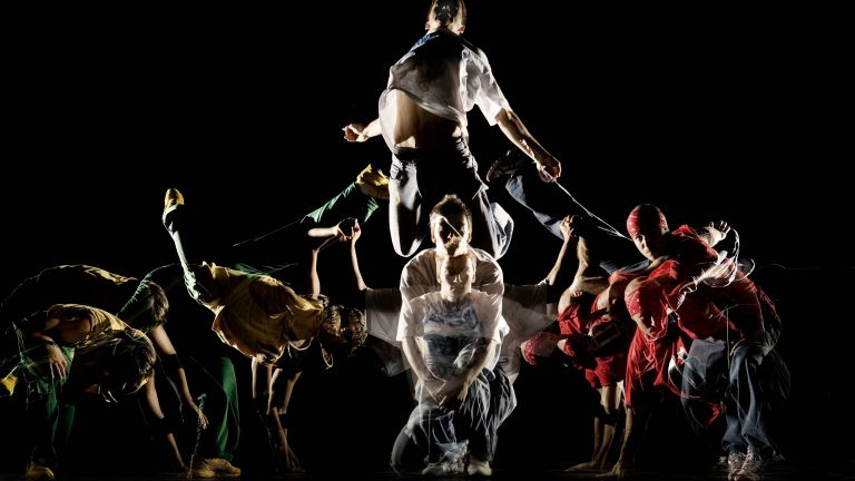 Street dance dance show
