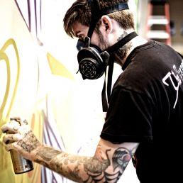 Kunstenaar Amsterdam  (NL) Urban Graffiti Artiest