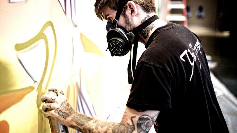 Urban Graffiti Artiest