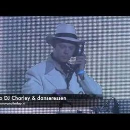Retro DJ Charley With div. DJ booths