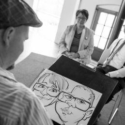 Speed artist / Caricaturist Thijs