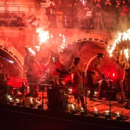 Stuntshow Amsterdam  (NL) Fire On Water