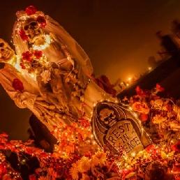 Stunt show Amsterdam  (NL) Dia De Los Muertos Halloween Parade
