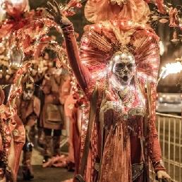 Dia De Los Muertos Halloween Parade