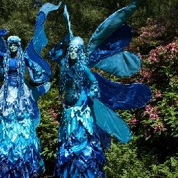 Animatie Amsterdam  (NL) Blauwe Elfjes Trio