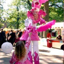 Stuntshow Amsterdam  (NL) Princesse de la Pinq