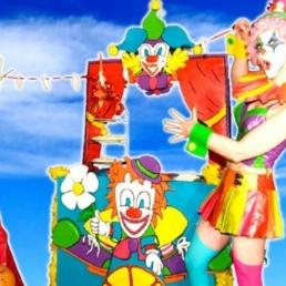 Clown Amsterdam  (NL) Nino & Nina de Clown