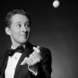 Close-up goochelaar- Rafael Scholten