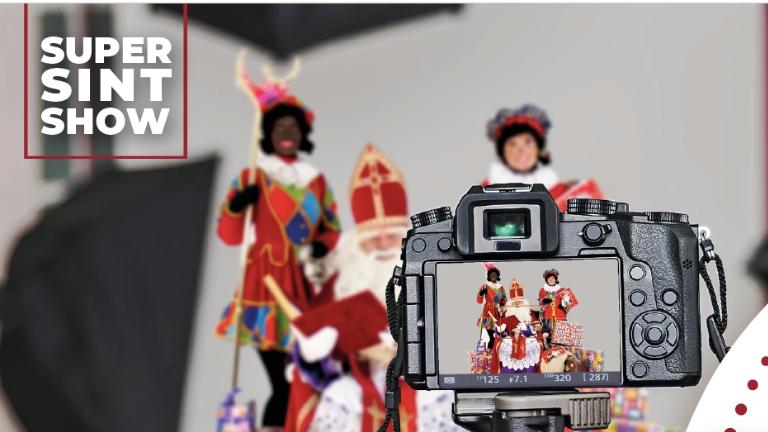 Kids show Nieuwegein  (NL) Digital visit of Sint and Piet