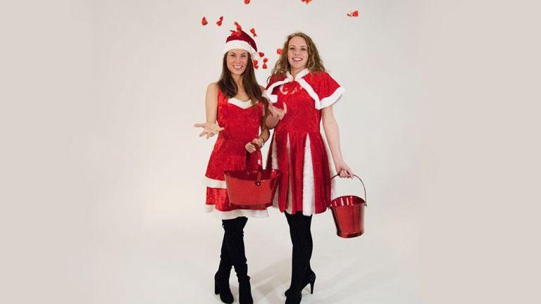 Kerst Schminkdame