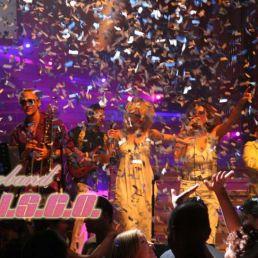 Band Den Haag  (NL) D.I.S.C.O. LIVE DISCOBAND inprikbasis
