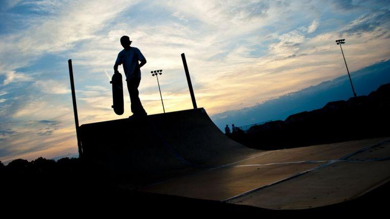 Half Pipe Skate Show