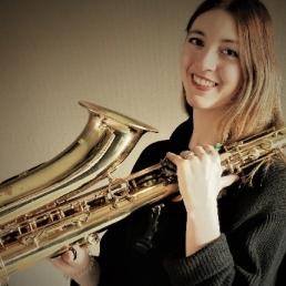 Saxophonist Vlaardingen  (NL) Saxophonist Rianne Korteland