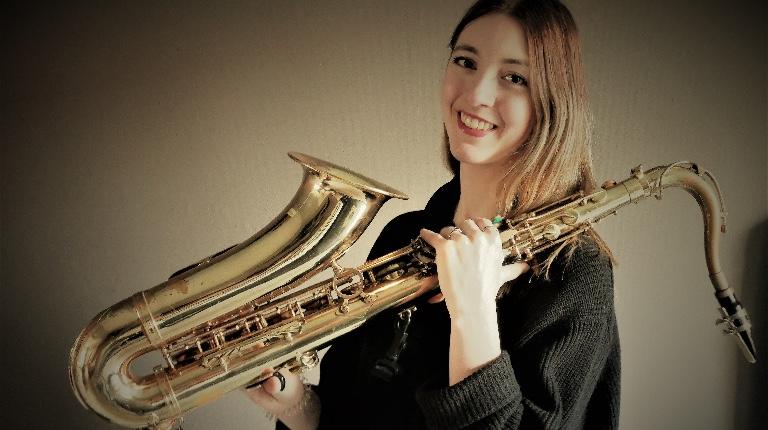 Saxophonist Rianne Korteland