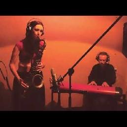 Saxophonist Vlaardingen  (NL) Ferry (Pianist) & Rianne (Saxophonist)