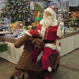 Animatie Amstelveen  (NL) Santa en Rudolf