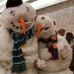 Snowman solo or duo