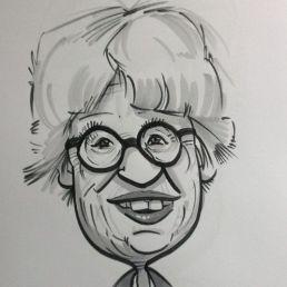Caricaturist Herman