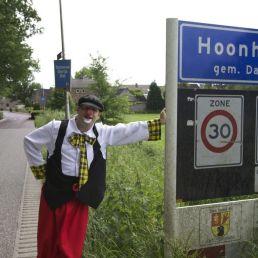 Clown Heino  (NL) Kinderfeest Clown
