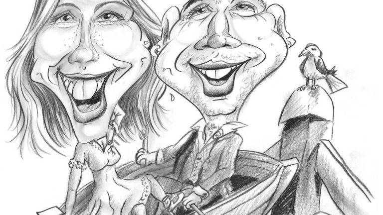 Karikatuurtekenaar-Sneltekenaar