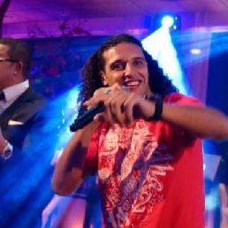 Ali B with Live Band gig