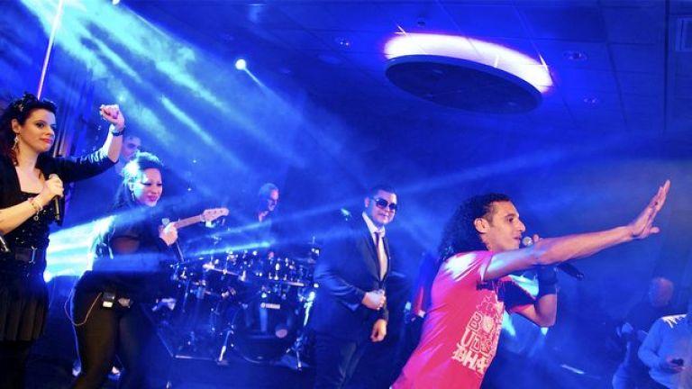 Ali B met Live Band optreden