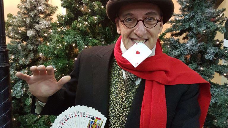 Charles Dickens Goochelaar