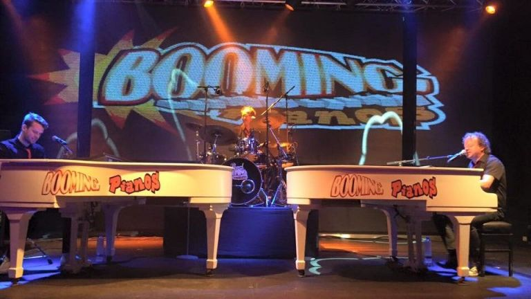 Booming Pianos Basic + sax