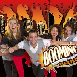 Band Almere  (NL) Booming Pianos XXL