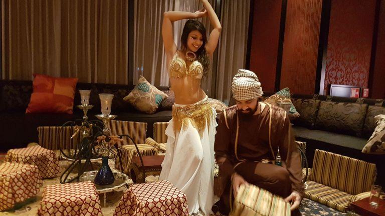 Belly dancer Ashvini