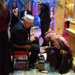 Schoenenpoetser Mohammed al Ali Ali Ali