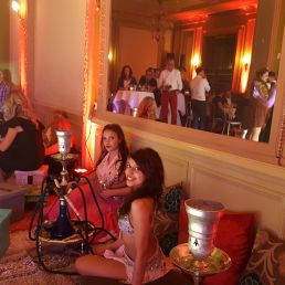 Hookah lounge for parties