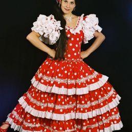Flamenco danseres Laura Rivas
