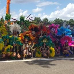 Dansgroep Lelystad  (NL) Parade samba danseressen