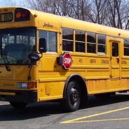 Dropping in Amerikaanse Schoolbus
