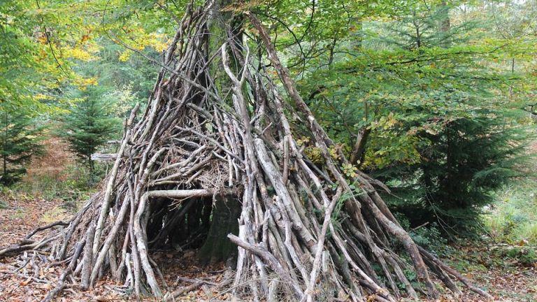 Primitief kamperen
