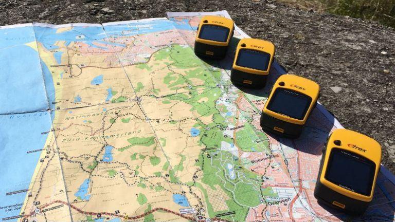 GPS treasure search