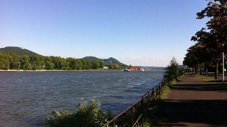 Rhine water game