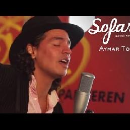 Singer (male) Den Haag  (NL) Aymar Torres (Acoustic Bossanova-Latin)