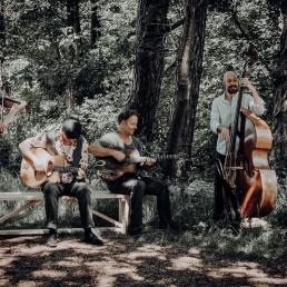 Band Kamperveen  (NL) Kaiser Swing Quartet