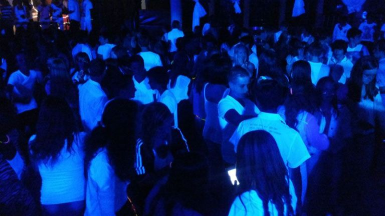 Blacklight 90's & 00's Party