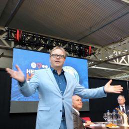 Frits Huffnagel: Presenter