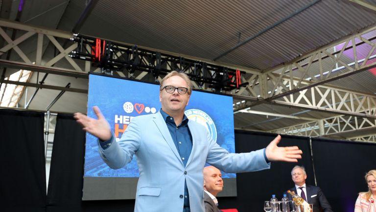 Frits Huffnagel: Presentator