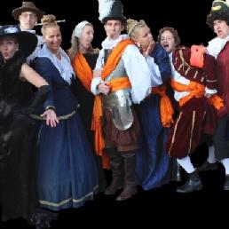 Event show Leeuwarden  (NL) TheaterDiner Averij