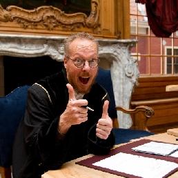 Jan-Dirk van Ravesteijn Wedding Officer